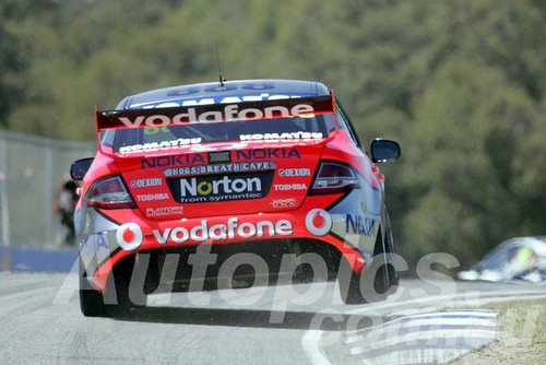 209719 - Craig Lowndes - Ford Falcon FG - Barbagallo Racewayo 2009 - Photographer Marshall Cass