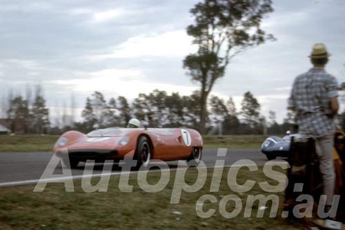 64208 - Greg Cusack, Lotus 23 - Warwick Farm 1964 - Photographer Peter Wilson