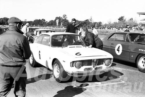 66302 - Kevin Bartlett, Alfa Romeo GTA - Warwick Farm 1966 - Paul Manton Collection