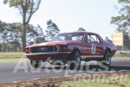 68302 - Bob Jane, Mustang - Warwick Farm 1968 - Peter Wilson Collection