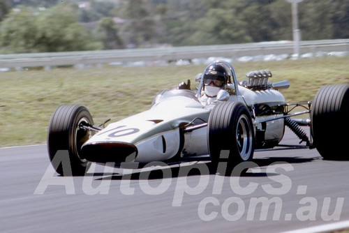 68305 - Leo Geoghegan Lotus 39 Repco V8 - Warwick Farm 1968 - Peter Wilson Collection