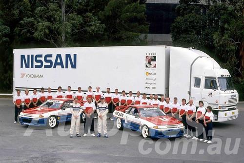 91047a - Nissan Motorsport 1991 -   Nissan Skyline GT-R R32 - Fred Gibson, Jim Richards & Mark Skaife