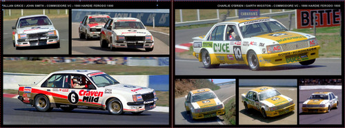 !Holden Commodore Group C - 80 Page Hard Cover Book - Pictorial History