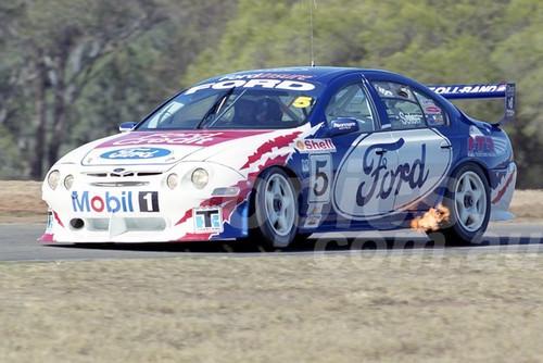 200114 - Glenn Seton, Ford Falcon AU - Oran Park 2000 - Photographer Marshall Cass