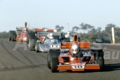 81621 - Rob Butcher Lola T332 & Ivan Tigh, Chevron B37  - Amaroo 1981- Photographer Lance J Ruting