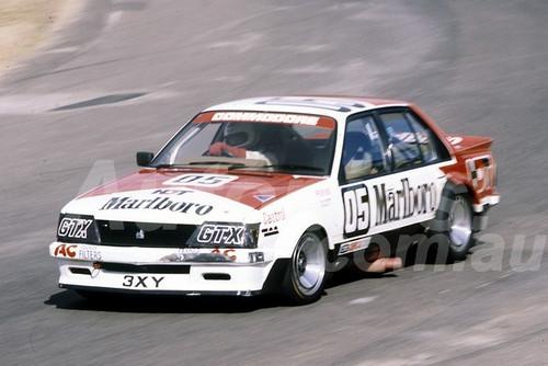 82109 - Peter Brock, Holden Commodore - Amaroo Park 1982  - Photographer  Lance J Ruting