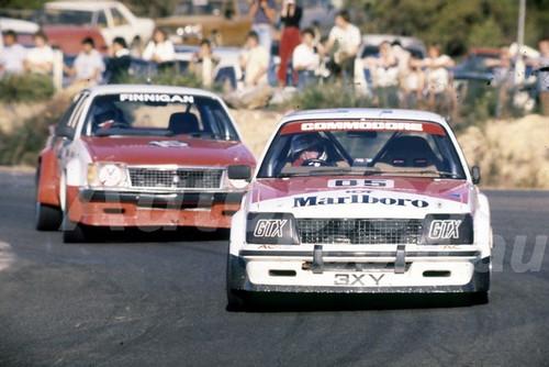 82126 - Peter Brock & Terry Finnagan, Holden Commodore - Amaroo Park 1982  - Photographer  Lance J Ruting