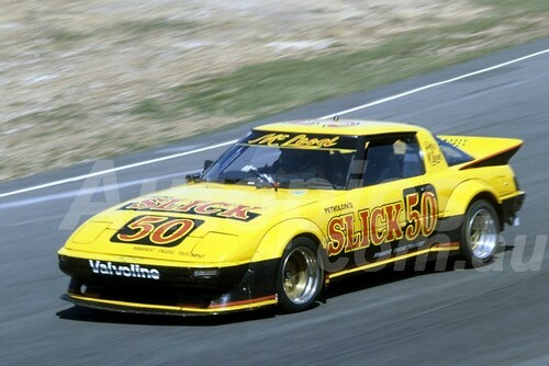 83100 - Peter McLeod, Mazsa RX7 - Amaroo 1983  - Photographer Lance Ruting