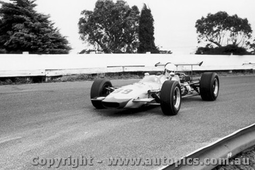 70542 - Chris Milton Elfin Mono IIB Ford - Sandown 1970