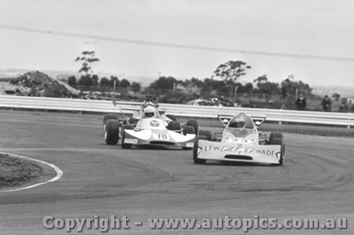 74507 - P. King Birrana 374 / B. Sampson Cheetah Toyota  - Calder 1974