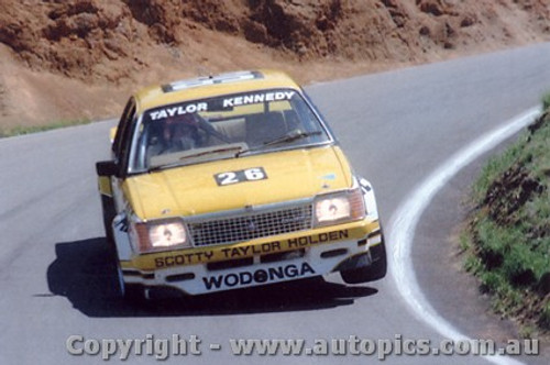 81734 - Taylor / Kennedy  Holden Commodore - Bathurst 1981