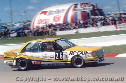 81736 - Taylor / Kennedy  Holden Commodore - Bathurst 1981