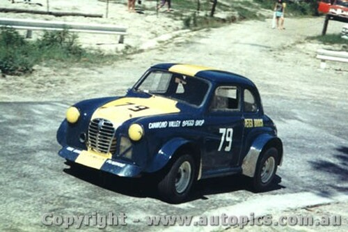 68150 - Peter Brock Austin A30 - Lakeland Hillclimb 1968