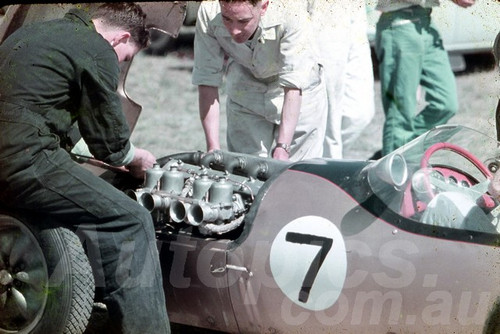 59532 - Ern Tadgell Lotus 12 Sabakat - Lowood 1959 - Jim Bertram Collection