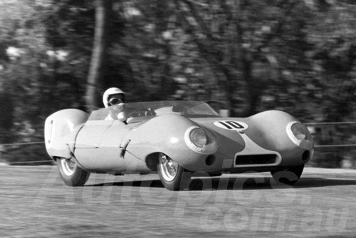 62037 - Bevan Fleming, Lotus XI - Lakeside 1962- Jim Bertram Collection