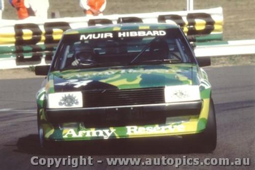 81737 - Muir / Geoghegan - Bathurst 1981 - Ford Falcon