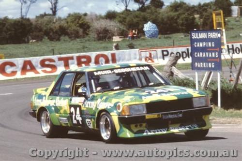 81738 - Muir / Geoghegan - Bathurst 1981 - Ford Falcon