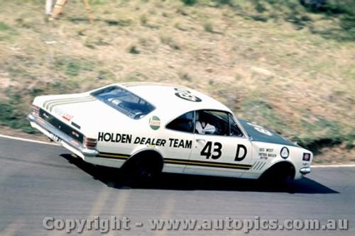 69734 - P Brock / D. West -  Bathurst 1969 - 3rd Outright - Holden Monaro GTS 350