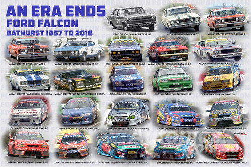 1196 - An Era Ends - Ford Falcon Bathurst 1967 to 2018