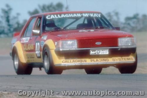 81025 - B. Callaghan / P. McKay - Ford Falcon XD - Oran Park 1981