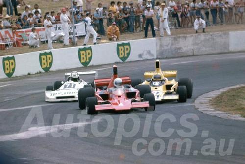 79132 - Chas Talbot Lola T400, Jon Davison Lola T332 & John Smith Ralt RT1 - Oran Park 1979