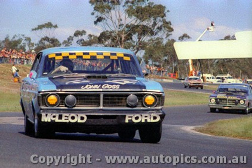72125 - John Goss  Ford Falcon GTHO Phase 3 - Sandown 1972