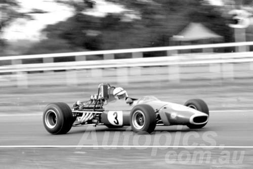 69680 - John Harvey, Brabham Repco V8 1969 - Photographer John Lindsay