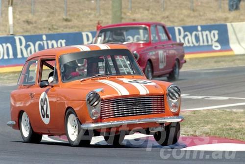 94050 - Steven Russell-Clark Austin A40 MK2 Farina - Bathurst 1994 - Photographer Marshall Cass