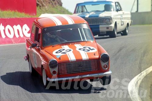 97023 - Steven Russell-Clark Austin A40 MK2 - Bathurst 1997 - Photographer Marshall Cass