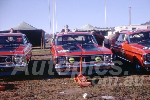 69688 - Ford Motor Company Team - Falcon XW GTHO - Moffat & Hamilton, Gibson & Seton, Pete & Leo Geoghegan - Hardie Ferodo 500 Bathurst 1970