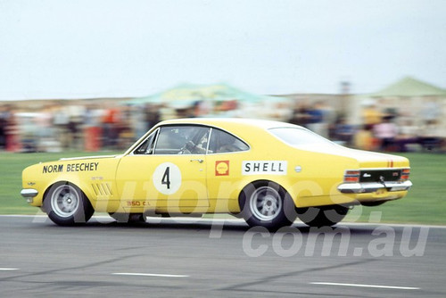 700006 - Norm Beechey, Holden Monaro GTS- Sandown 1970 - Photographer Peter D'Abbs