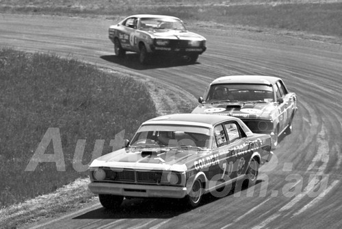 72397 - Des West & Murray Carter, Falcon XY GTHO - Phillip Island 1972 - Photographer Peter D'Abbs