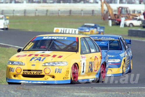96036 - John Bowe, Falcon EF - ATCC Lakeside 1996 - Photographer Marshall Cass