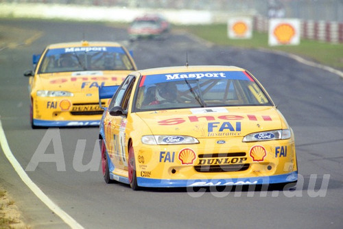 96038 - John Bowe & Dick Johnson, Falcon EF - ATCC Lakeside 1996 - Photographer Marshall Cass