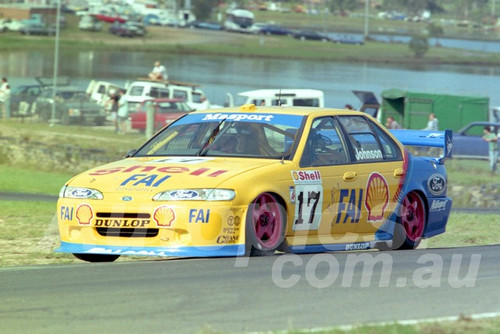 96040 - Dick Johnson, Falcon EF - ATCC Lakeside 1996 - Photographer Marshall Cass