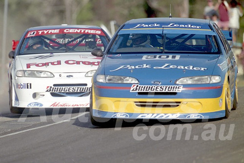 96046 - Alan Jones & Glenn Seton, Falcon EF - ATCC Lakeside 1996 - Photographer Marshall Cass