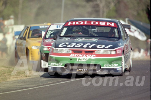 96049 - Russell Ingall, Commodore VR - ATCC Lakeside 1996 - Photographer Marshall Cass