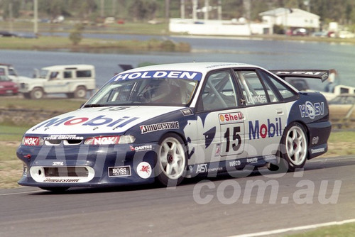 96055 - Craig Lowndes, Commodore VR - ATCC Lakeside 1996 - Photographer Marshall Cass