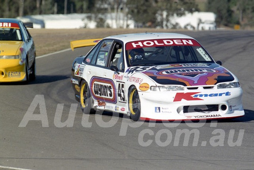 97025 -  Darren Hossack, VR Commodore - ATCC Oran Park 1997 - Photographer Marshall Cass