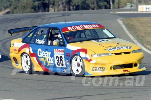 97030 - Neil Schembri, VS Commodore - ATCC Oran Park 1997 - Photographer Marshall Cass