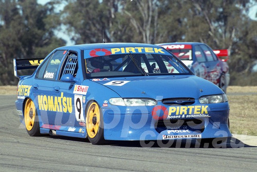 97042 - Alan Jones, Falcon EL - ATCC Oran Park 1997 - Photographer Marshall Cass