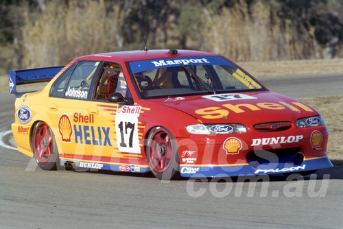 97046 - Dick Johnson, Falcon EL - ATCC Oran Park 1997 - Photographer Marshall Cass
