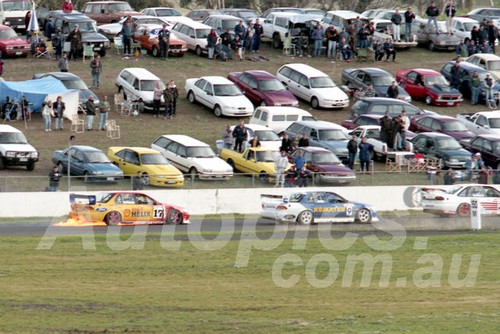 98110 - Dick Johnson, Falcon EL- ATCC Calder 1998- Photographer Marshall Cass
