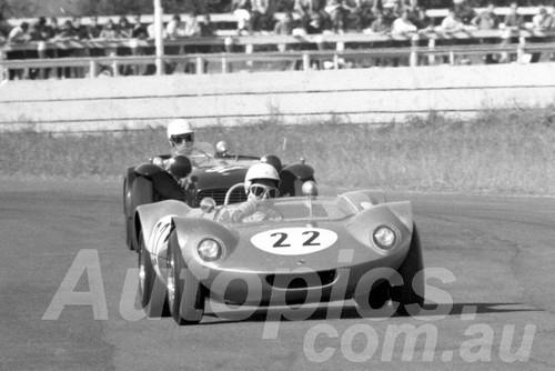 66494 - Rex Robinson Elfin Mallala - Warwick Farm 1966 - Photographer Lance J Ruting