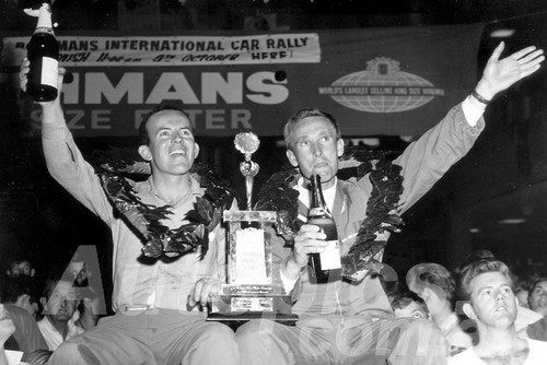 67097 - Barry Ferguson & David Johnson Winners of the Rothmans Rally 1967