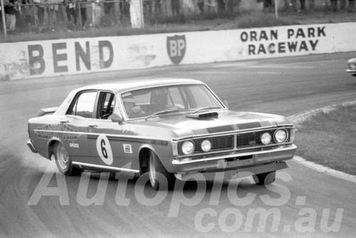 72556 - John Barnes  Falcon XY GTHO - Oran Park  5th Febuary 1972- Photographer Lance J Ruting