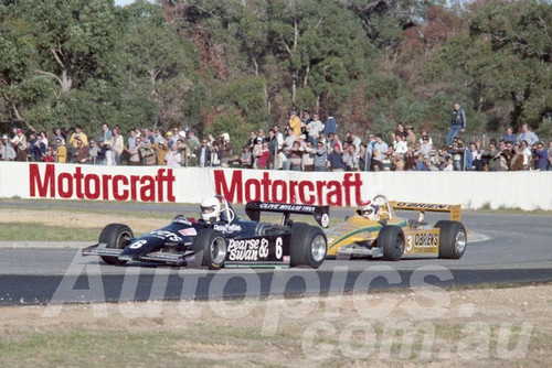 82133 - Richard Davison & Charlie O'Brien Ralt RT4 - Wanneroo 1982  - Photographer  Tony Burton