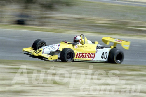 84104 - Geoff Nicol, Ralt - Wanneroo April 1984 - Photographer Tony Burton