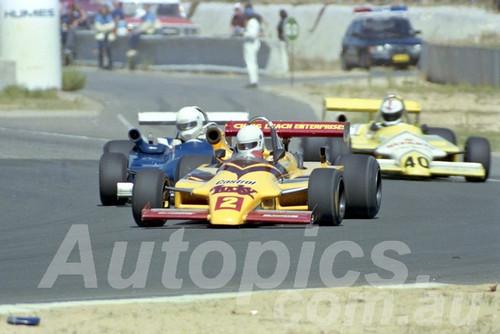 85090 - Ross Zampatti, Ralt - Wanneroo March 1985 - Photographer Tony Burton