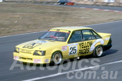 89064 - Tony Kavich, Commodore - Amaroo 1989 - Photographer Lance Rutting